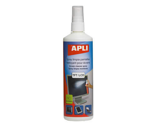 SPRAY APLI LIMPIA PANTALLAS 250 ML. (11324)