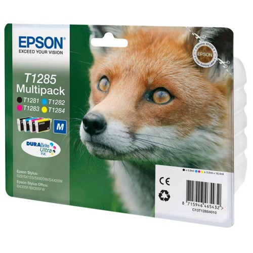 CARTUCHO EPSON T1285 MULTIPACK