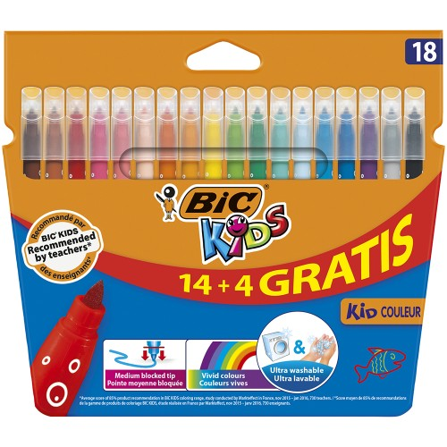 Rotuladores  BIC Couleur18