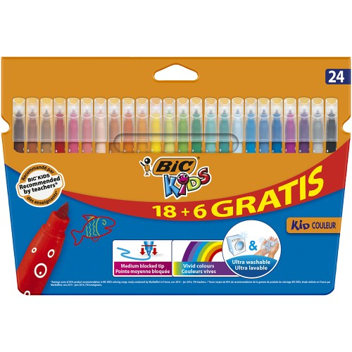 Rotuladores  BIC Couleur 24