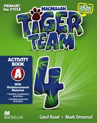 Tiger Team 4º Primaria - Activity book A