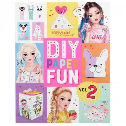 Libro DIY paper fun de Top Model