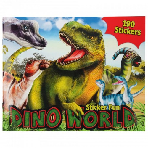 Libro Sticker Fun Dino World